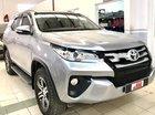 Cần bán gấp Toyota Fortuner 2.4G năm 2017, màu bạc, nhập khẩu nguyên chiếc