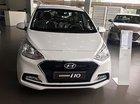 Bán xe Hyundai Grand i10 1.2 AT năm sản xuất 2017, màu trắng
