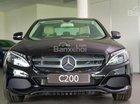 Cần bán xe Mercedes C200 đời 2018, màu đen nội thất kem ở Lâm Đồng
