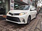 Bán xe Toyota Sienna Limited màu trắng nội thất nâu, mới 100% sản xuất 2018. Liên hệ giá tốt: 093.798.2266