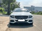 Bán Mercedes C200 sản xuất 2016, ĐK 2017 màu trắng /kem