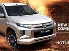 Bán xe Mitsubishi Triton 1 cầu sàn 2018 ở Nghệ An, giá tốt nhất phân khúc bán tải