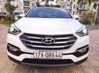 Bán ô tô Hyundai Santa Fe 2.4L năm 2017, màu trắng, xe nhập