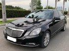 Cần bán xe Mercedes E300 sản xuất 2009, màu đen chính chủ, giá 790tr