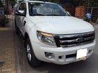 Bán xe Ford Ranger XLT 2014 màu trắng, xe số sàn