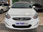 Cần bán xe Hyundai Accent 1.4 AT đời 2012, màu trắng, nhập khẩu nguyên chiếc xe gia đình