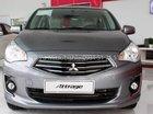 Cần bán xe Mitsubishi Attrage 1.2 MT năm sản xuất 2016, màu xám xe gia đình, 380tr