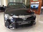 Toyota Nha Trang/Bán Toyota Camry 2.0E sản xuất 2018, màu đen, hỗ trợ trả góp lãi suất ưu đãi