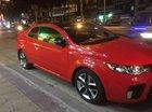 Cần bán lại xe Kia Cerato đời 2011, màu đỏ, nhập khẩu nguyên chiếc