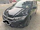 Cần bán xe Honda City V Top năm sản xuất 2017, màu đen