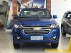 Bán xe bán tải 5 chỗ Colorado màu xanh dương, trả trước 15% - LH: 0945 307 489 gặp Huyền Chevrolet