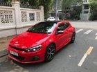 Bán Volkswagen Scirocco 2.0 GTS, màu đỏ, đăng ký 2018, chính chủ 210 mã lực, số tự động