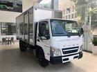 Xe tải Fuso Canter 4.99, tải 2.1 tấn thùng 4.35m, động cơ Mitsubishi E4