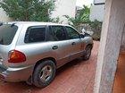 Bán Hyundai Santa Fe sản xuất năm 2002, màu bạc, xe nhập số tự động