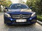 Bán Mercedes C200 xanh năm 2017, màu xanh lam, chính chủ