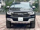 Bán Ford Everest 2.2L 4x2 Titanium AT sản xuất 2017, màu đen, nhập khẩu