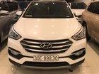 Cần bán xe Hyundai Santa Fe 2.4L full xăng SX 2017, màu trắng, giá chỉ 1 tỷ 85 triệu
