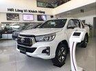 Bán Toyota Hilux 2.4G 1 cầu máy dầu, số tự động 6 cấp, mới 100%, nhiều màu, giao ngay