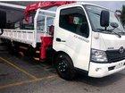 Bán xe tải Hino XZU720 - 3 tấn gắn cẩu