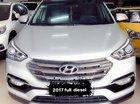 Cần bán xe Hyundai Santa Fe năm sản xuất 2017, màu trắng