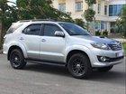 Cần bán Toyota Fortuner 2.5 G 2015, màu bạc còn mới