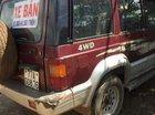 Bán xe Mekong Pronto sản xuất 1995, màu đỏ, xe chạy dầu 2 cầu rất mạnh