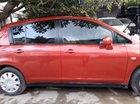 Bán ô tô Nissan Tiida 2008, màu đỏ, nhập khẩu nguyên chiếc xe gia đình
