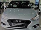 Bán Hyundai Accent MT base, màu bạc, hỗ trợ trả góp lên đến 80%, giao ngay trước tết