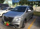 Bán xe Toyota Innova E 2016 màu bạc, đăng ký biển số SG, có trả góp - LH 0938878099 (Quang)