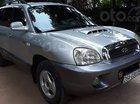Cần bán lại xe Hyundai Santa Fe Gold 2.0 AT năm 2002, màu bạc, xe nhập số tự động