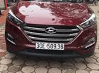 Bán ô tô Hyundai Tucson sản xuất 2017 màu đỏ, nhập khẩu nguyên chiếc, 980 triệu