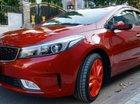 Cần bán Kia Cerato sản xuất năm 2018, màu đỏ, 550 triệu