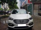 Cần bán xe Hyundai Santa Fe 2.4L 4WD sản xuất năm 2017, màu trắng
