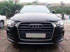 Bán Audi Q3 2.0 Quattro đời 2017, màu đen, nội thất nâu, xe nhập