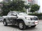 Ô Tô Thủ Đô bán xe Ford Ranger XLT 2.2L 4x4 2013, màu bạc 459 triệu