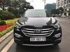 Cần bán lại xe Hyundai Santa Fe 2.4L 4WD đời 2017, màu đen