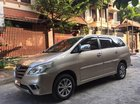 Cần bán Toyota Innova E đời 2015, màu vàng, giá 555tr