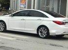 Cần bán lại xe Hyundai Sonata 2.0 AT sản xuất năm 2010, màu trắng