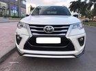 Bán Toyota Fortuner 2.4G 2017, màu trắng, xe nhập chính chủ
