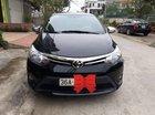 Cần bán Toyota Vios đời 2016, màu đen, giá 450tr