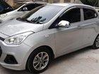 Cần bán gấp Hyundai Grand i10 năm 2016, màu bạc, nhập khẩu