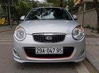 Cần bán gấp Kia Morning 1.1MT đời 2011, màu bạc như mới