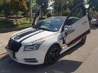 Bán Chevrolet Cruze LT MT sản xuất năm 2015, màu trắng, gia đình sử dụng mới 98%
