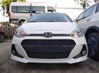 Hyundai Grand i10 5 cửa, số sàn, full option, màu trắng, giao ngay lấy xe về đi tết