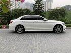Cần bán gấp Mercedes C250 AMG sản xuất năm 2015, màu trắng, nhập khẩu nguyên chiếc