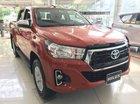 Bán xe Toyota Hilux 2.4E năm sản xuất 2018, màu đỏ, nhập khẩu
