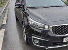 Bán Kia Sedona 2.2L DATH sản xuất 2016, màu đen xe gia đình