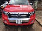 Bán ô tô Ford Ranger đời 2016, màu đỏ, nhập khẩu nguyên chiếc xe gia đình