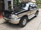 Cần bán lại xe Ford Ranger XLT 4x4 MT năm 2004, màu đen