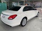 Cần bán gấp Mercedes C250 Exclusive sản xuất 2016, màu trắng sang trọng